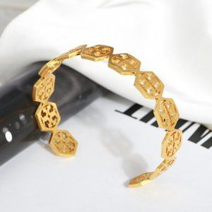 🎅Tory Burch Hexagon Bracelet